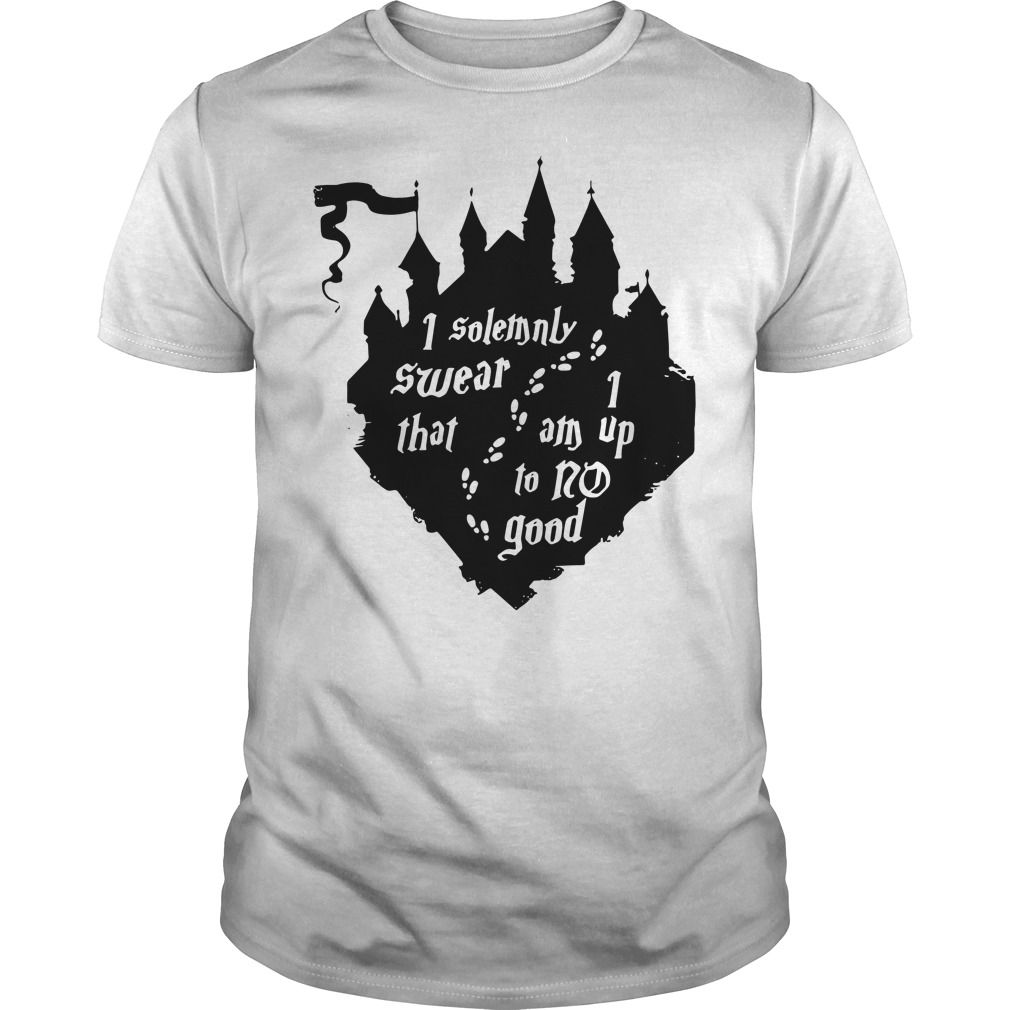 Harry Potter I solemnly swear that 1 am up to no good Guys Shirt