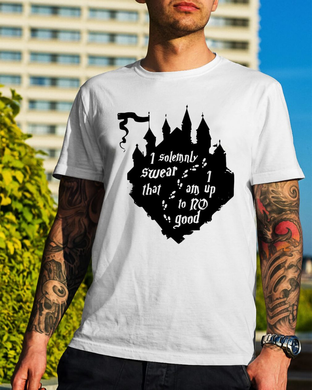 Harry Potter I solemnly swear that 1 am up to no good shirt
