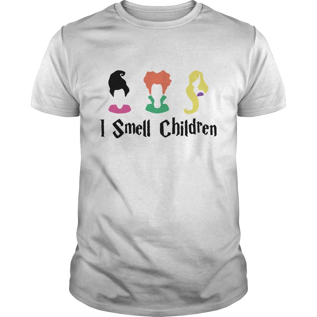 Hocus Pocus I smell children Guys Shirt