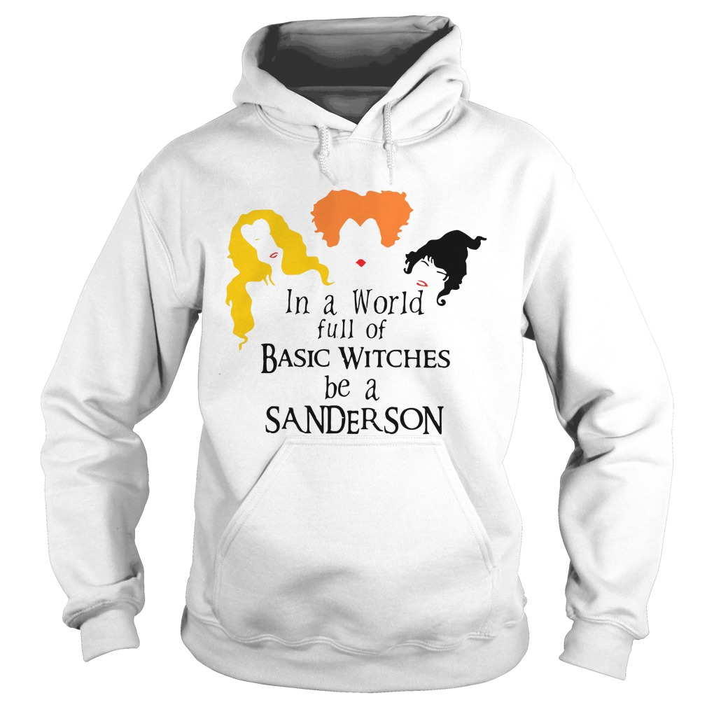 Hocus Pocus in a world full of basic witches be a Sanderson Hoodie