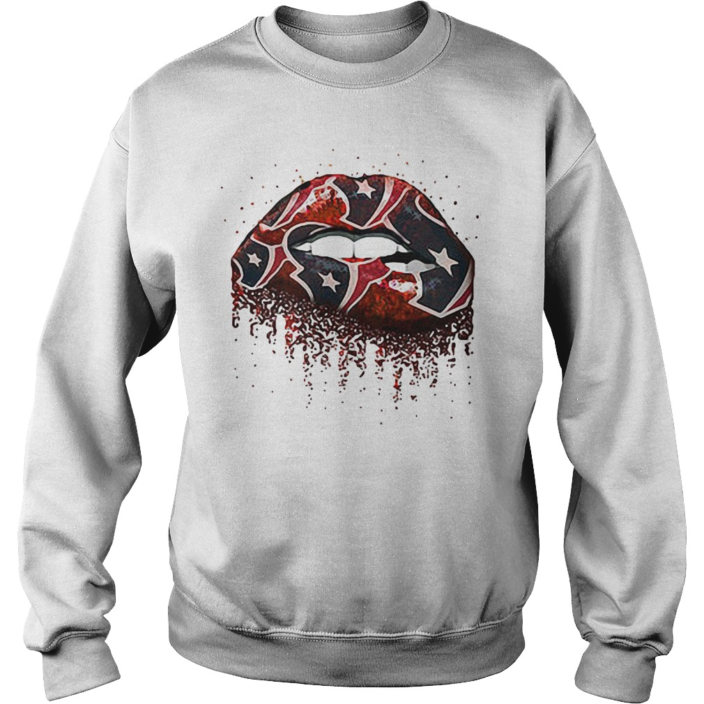 Houston Texans lips Sweater