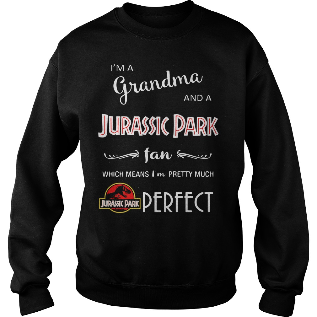 I'm a grandma and a Jurassic Park fan which means I'm pretty Sweater
