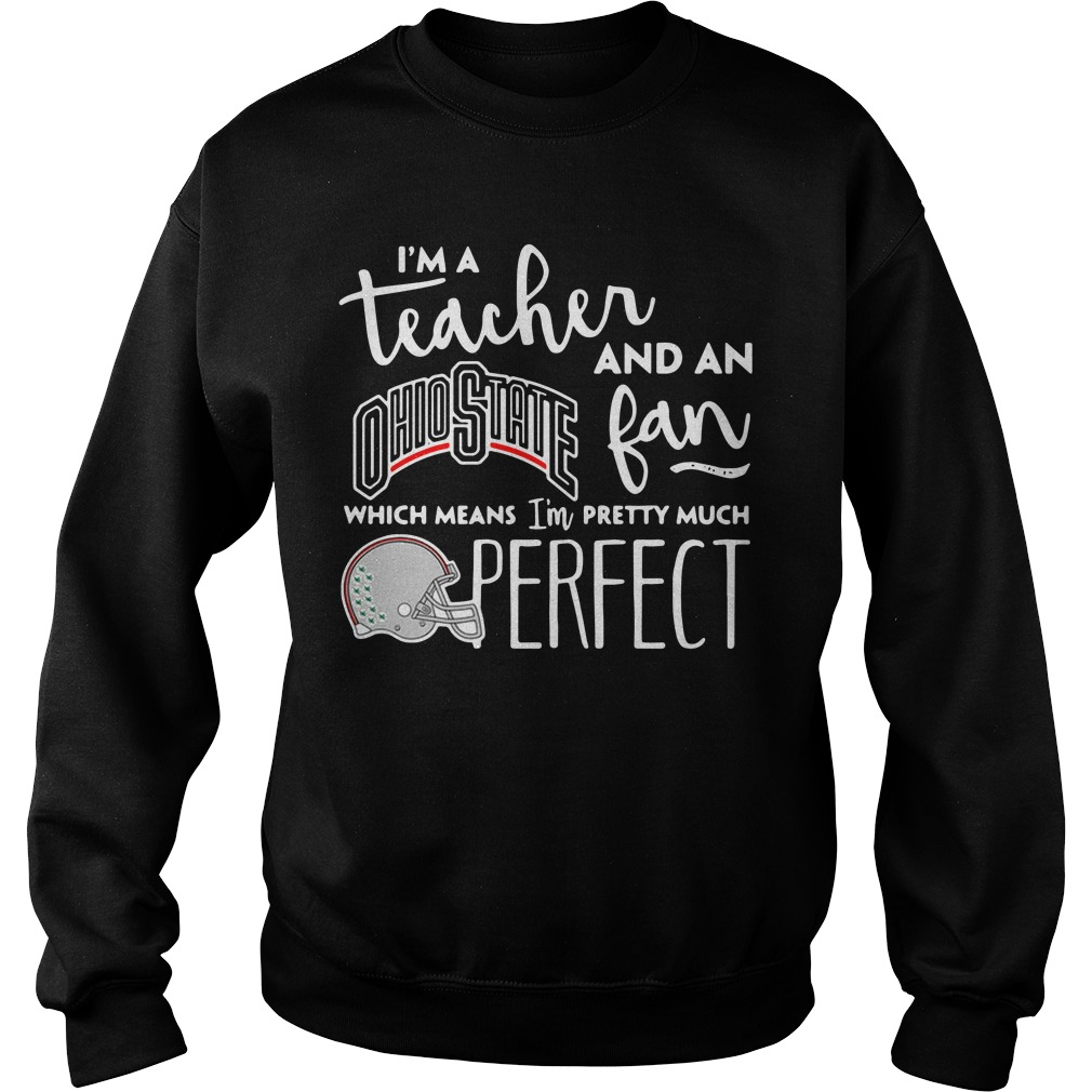 I'm a teacher and an Ohio State fan which means I'm pretty Sweater