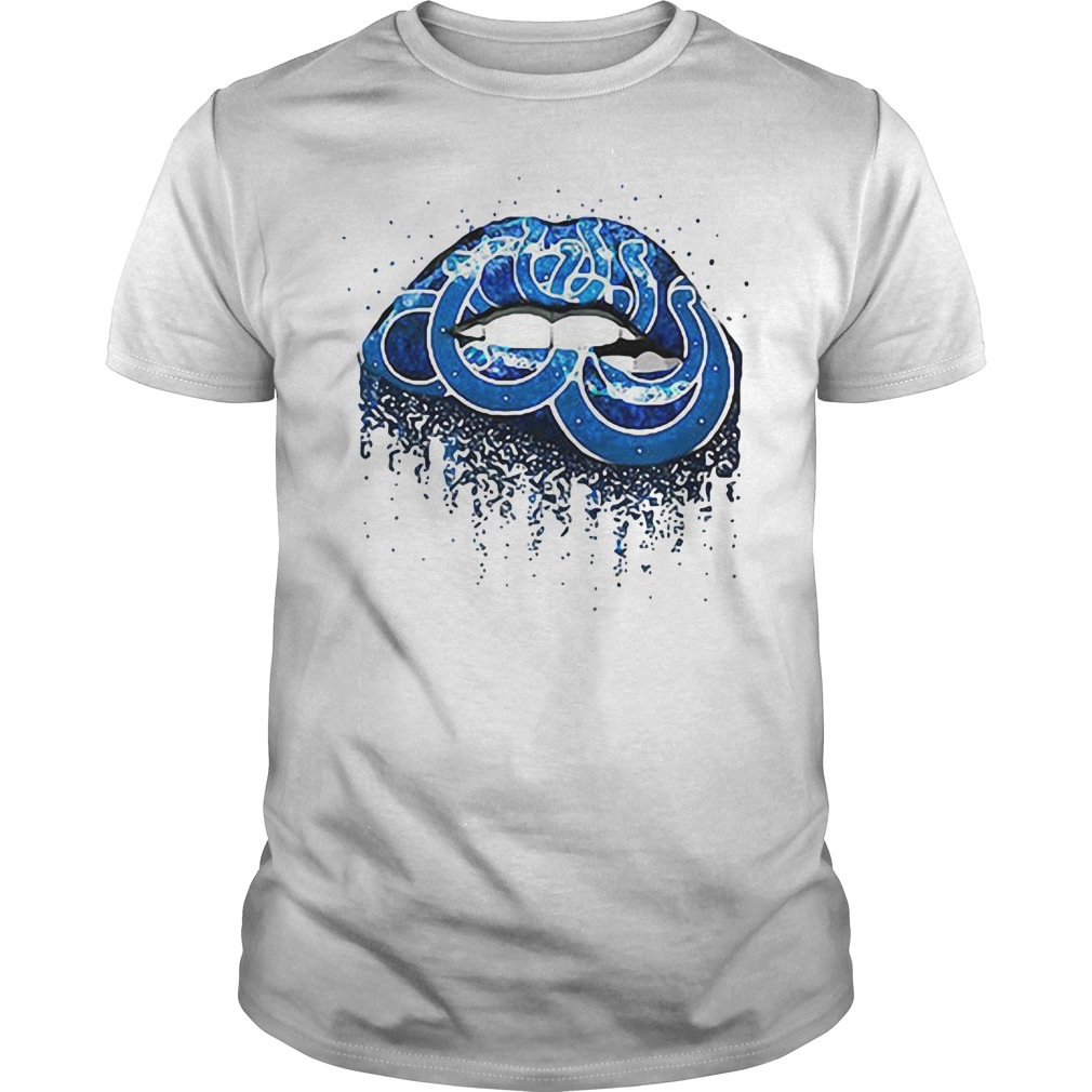 Indianapolis Colts lips Guys Shirt