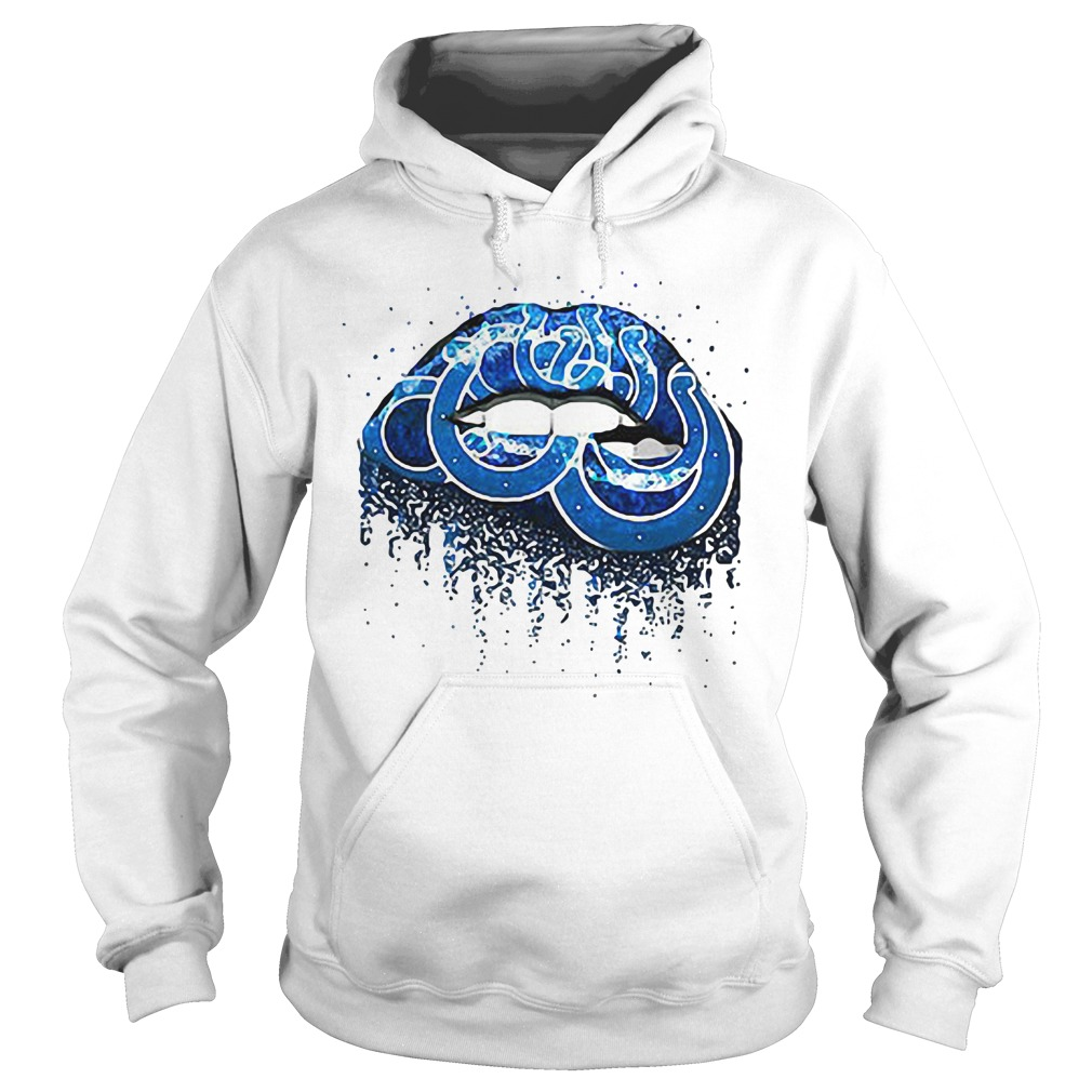 Indianapolis Colts lips Hoodie