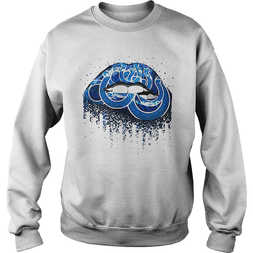 Indianapolis Colts lips Sweater
