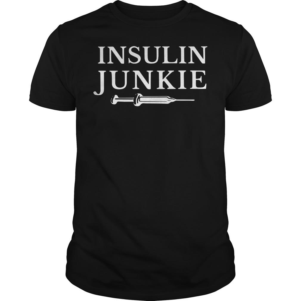 Insulin Junkie Guys Shirt