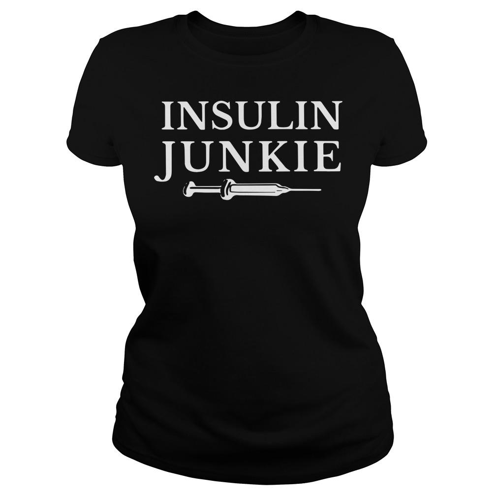 Insulin Junkie Ladies Tee