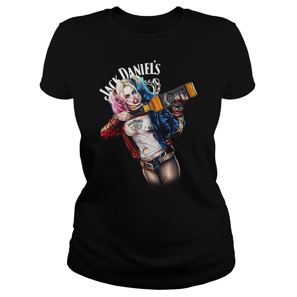 Jack Daniel's Harley Quinn Ladies Tee