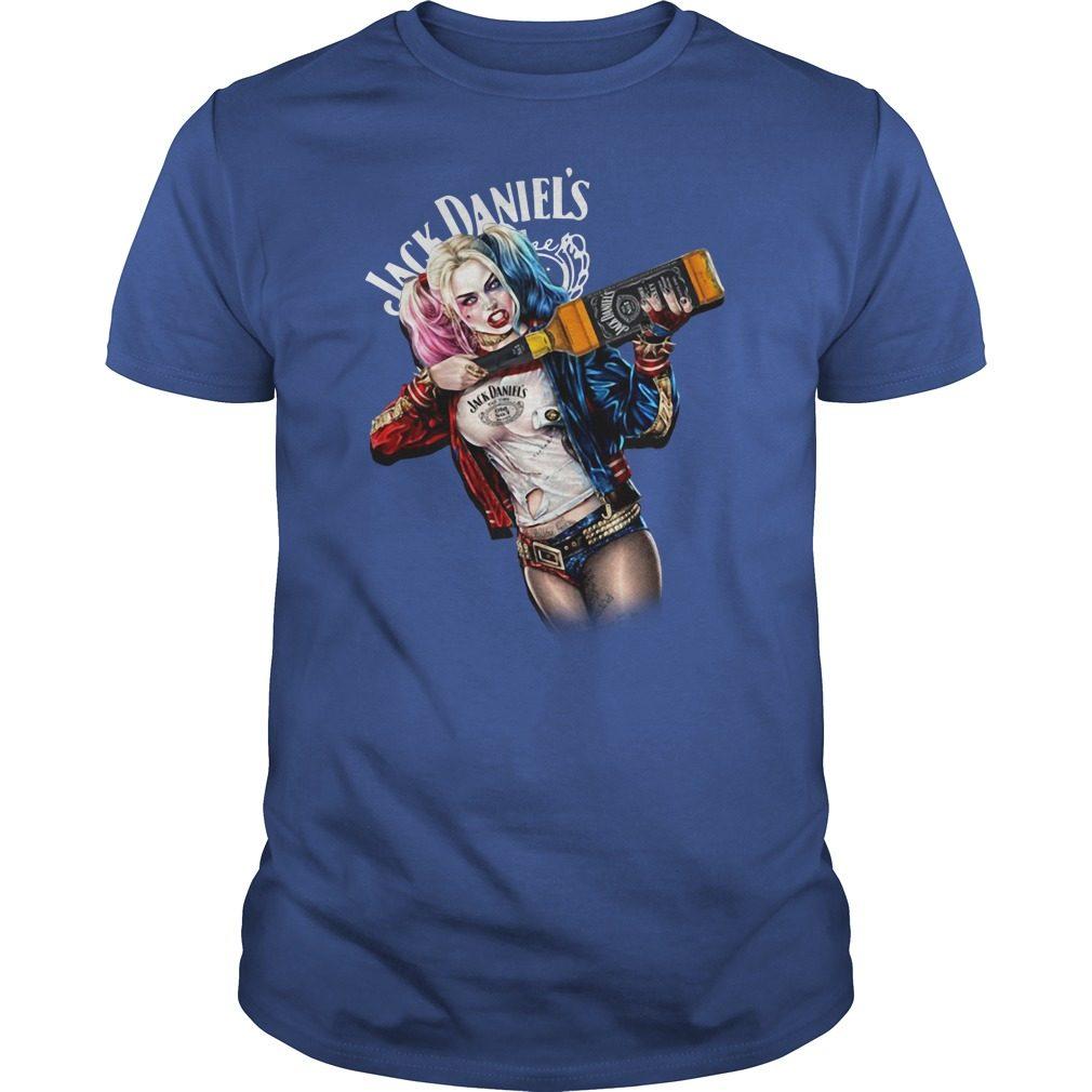 Jack Daniel's Harley Quinn shirt
