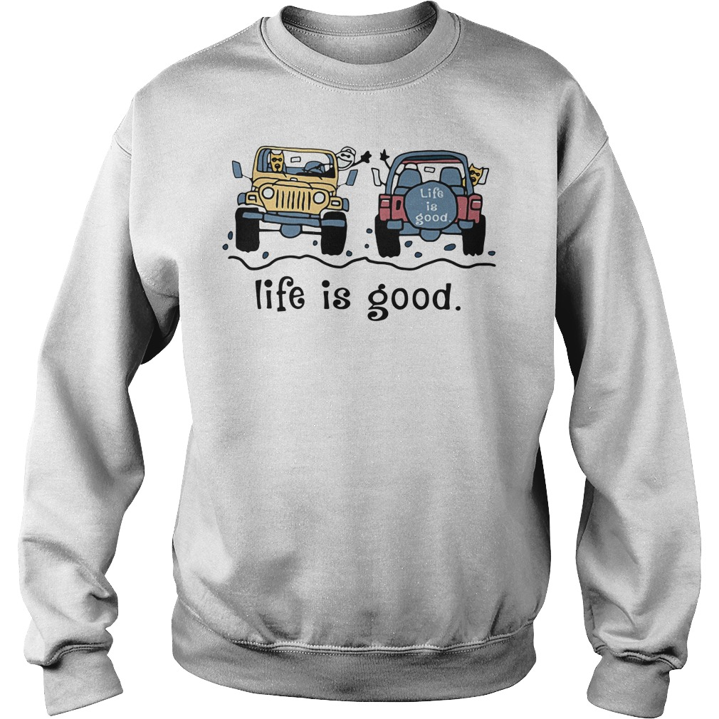 Jeep life is good Sweater