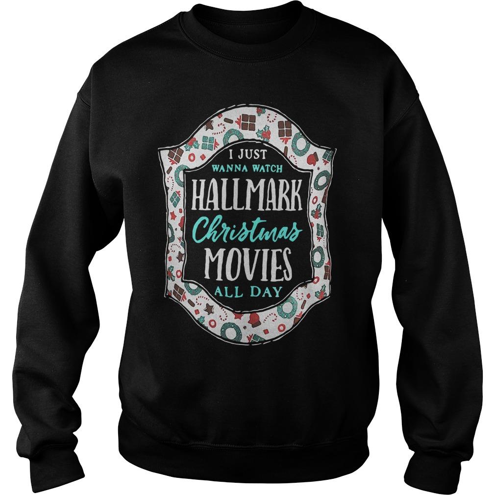 I just wanna watch hallmark Christmas movies all day Sweater