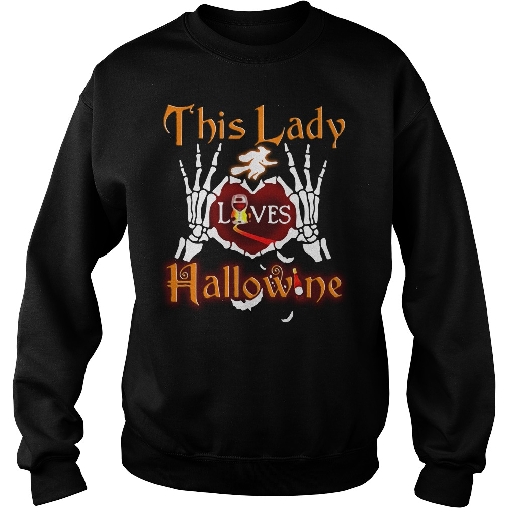 This lady loves Hallowine Sweater