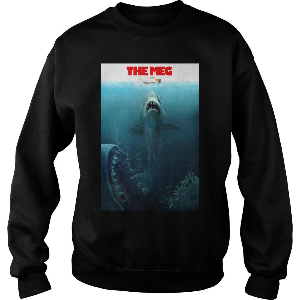 The Meg Jason Statham Shark Movie 2018 Worn Look Sweater