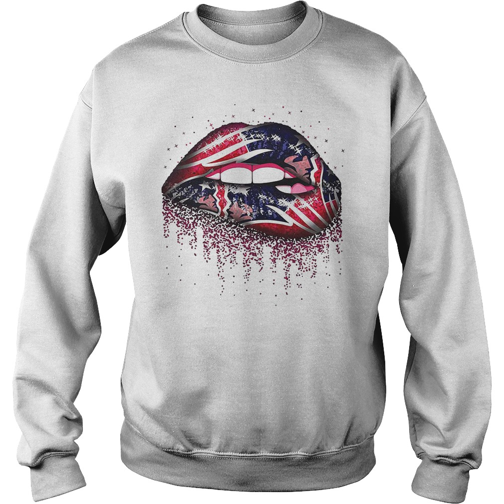 New England Patriots lips Sweater