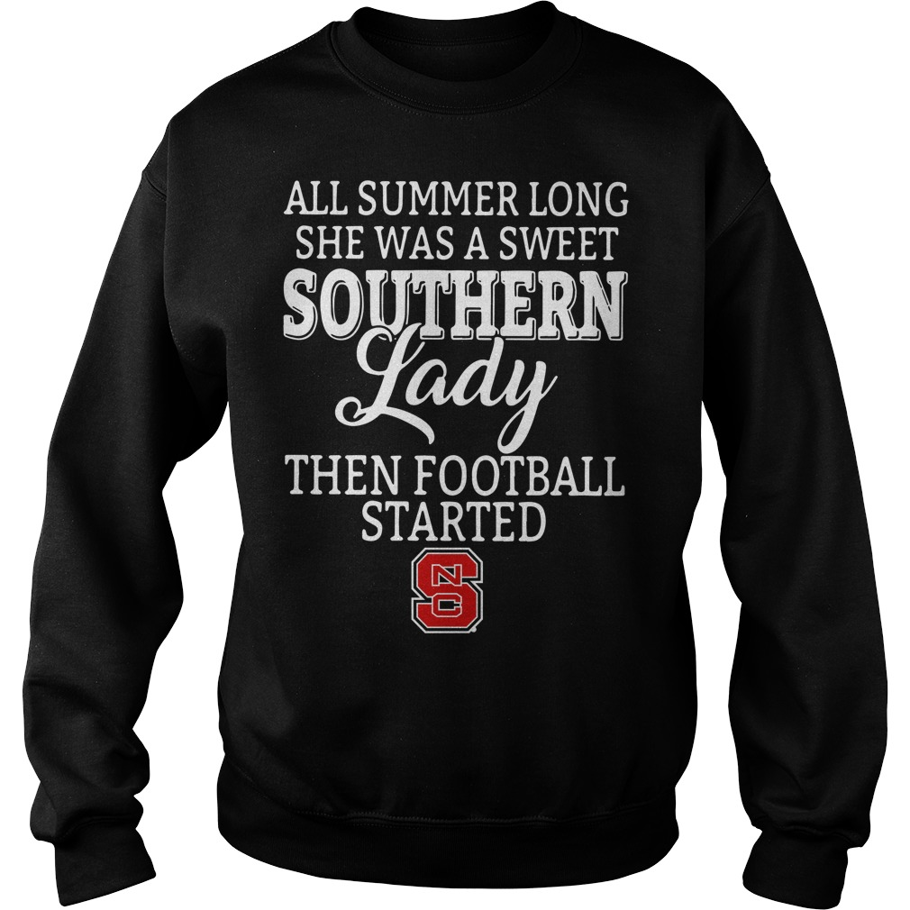 North Carolina State all summer long she was a sweet Sweater