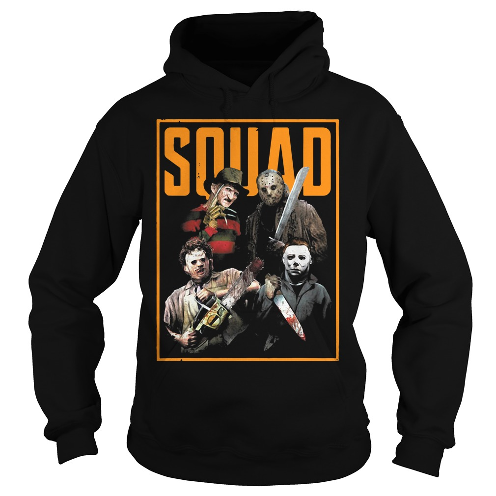 Official The Nightmare Ends on Halloween Squad Hoodie