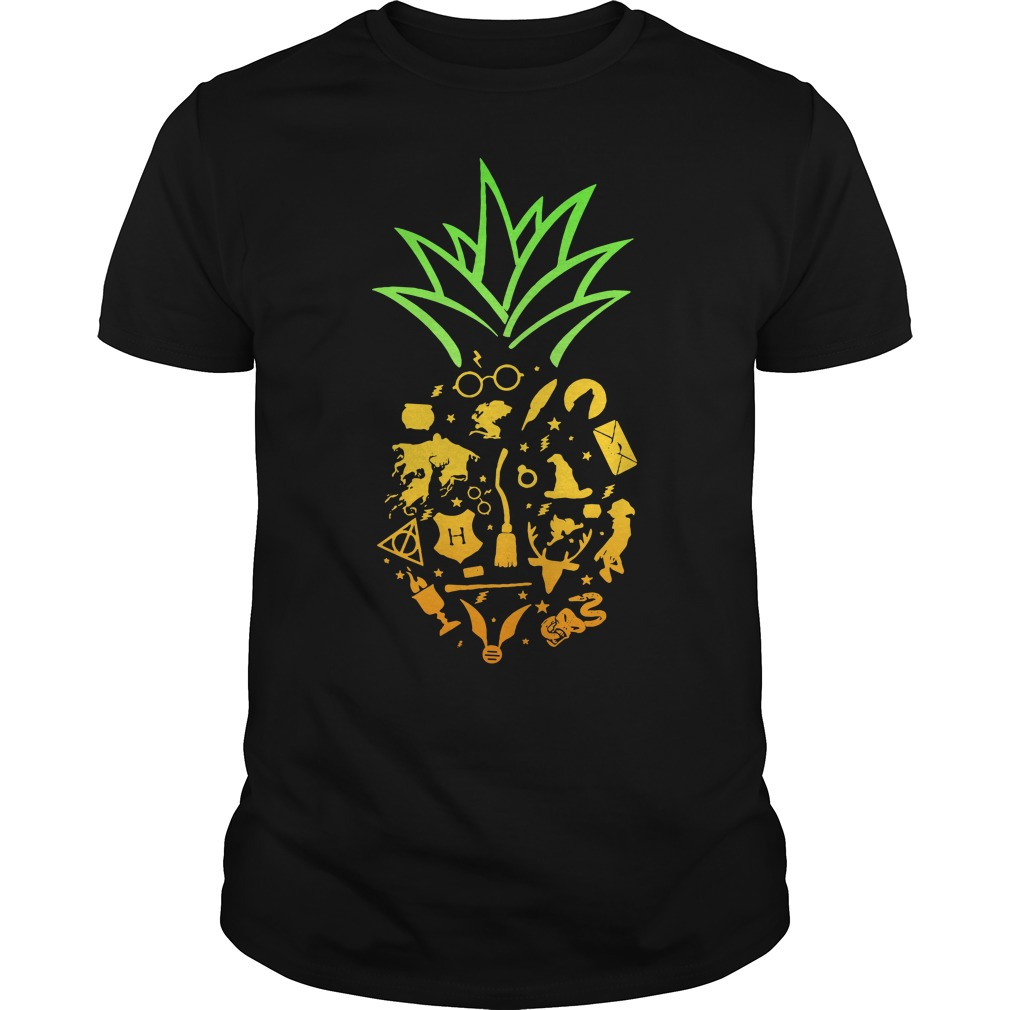 Pineapple halloween brooms Guys Shirt