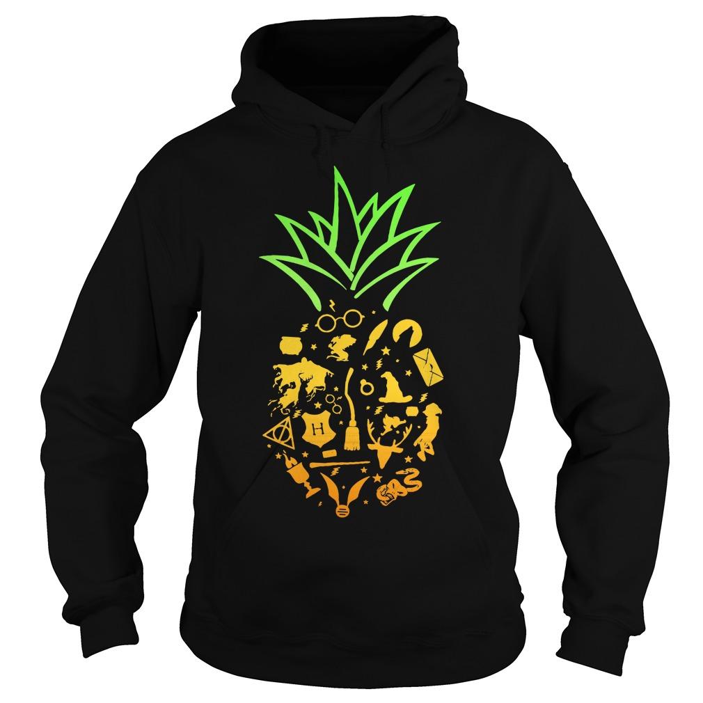 Pineapple halloween brooms Hoodie