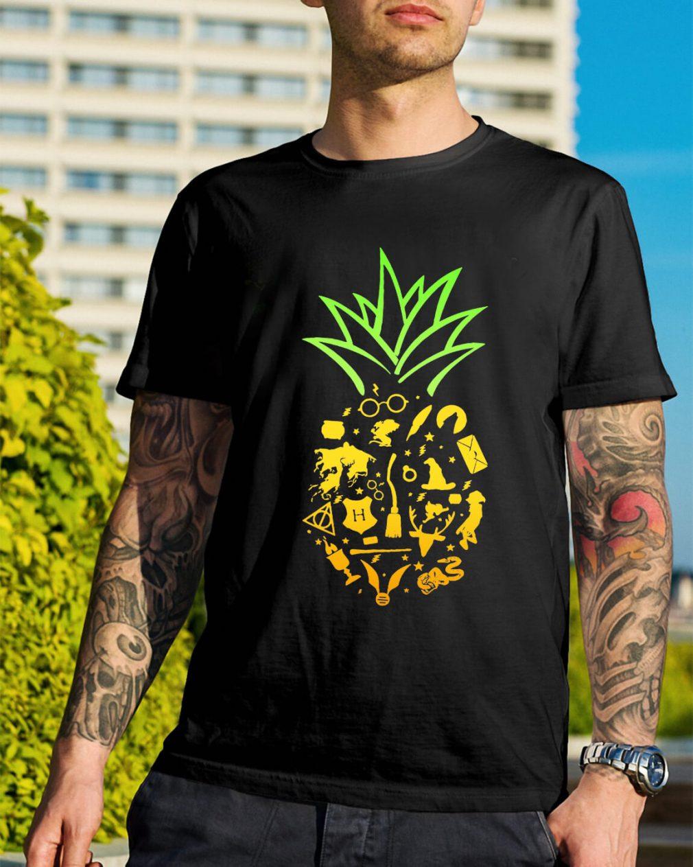 Pineapple halloween brooms shirt