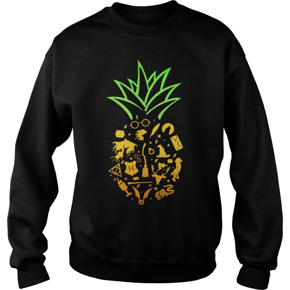 Pineapple halloween brooms Sweater