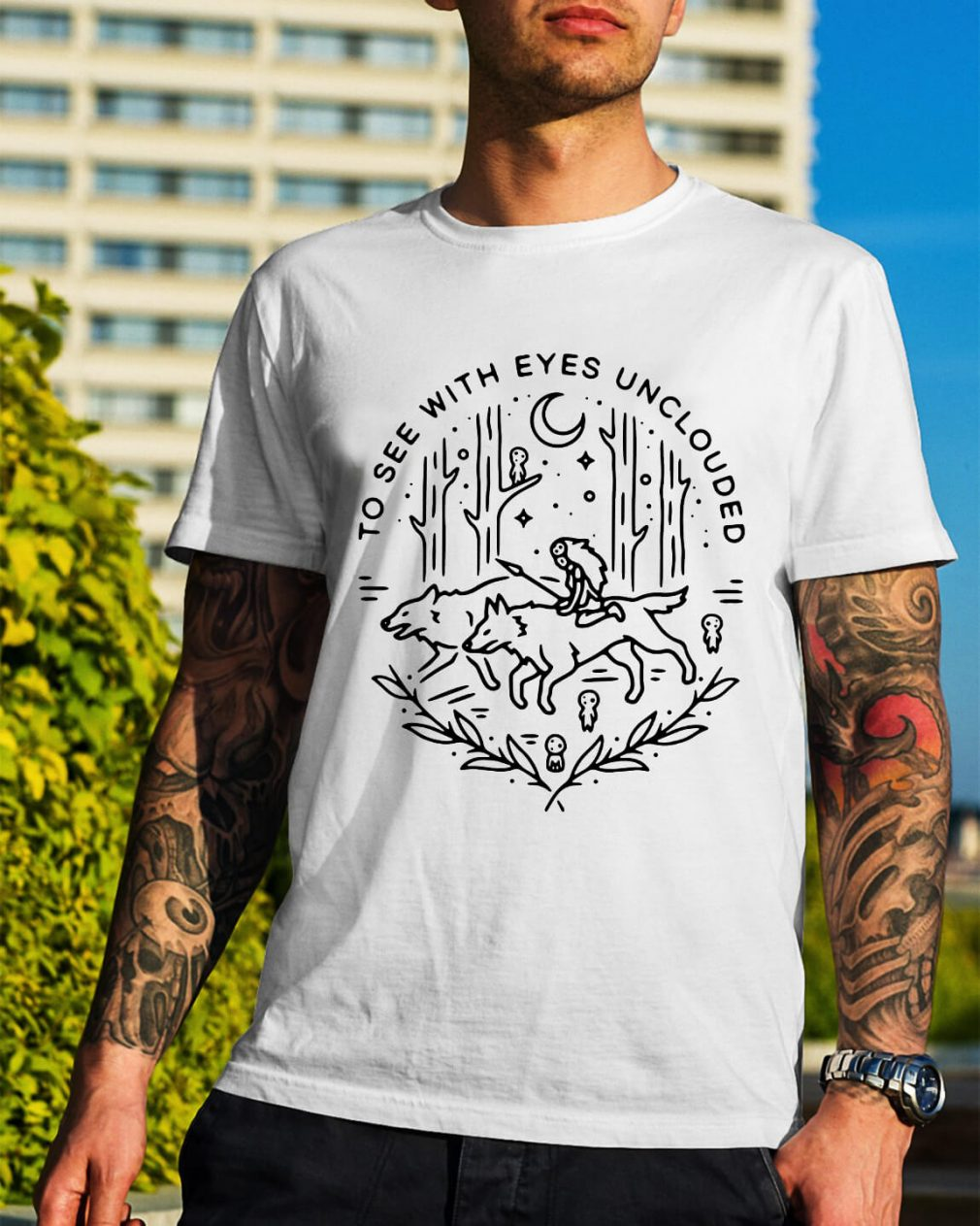 To see with eyes unclouded shirt