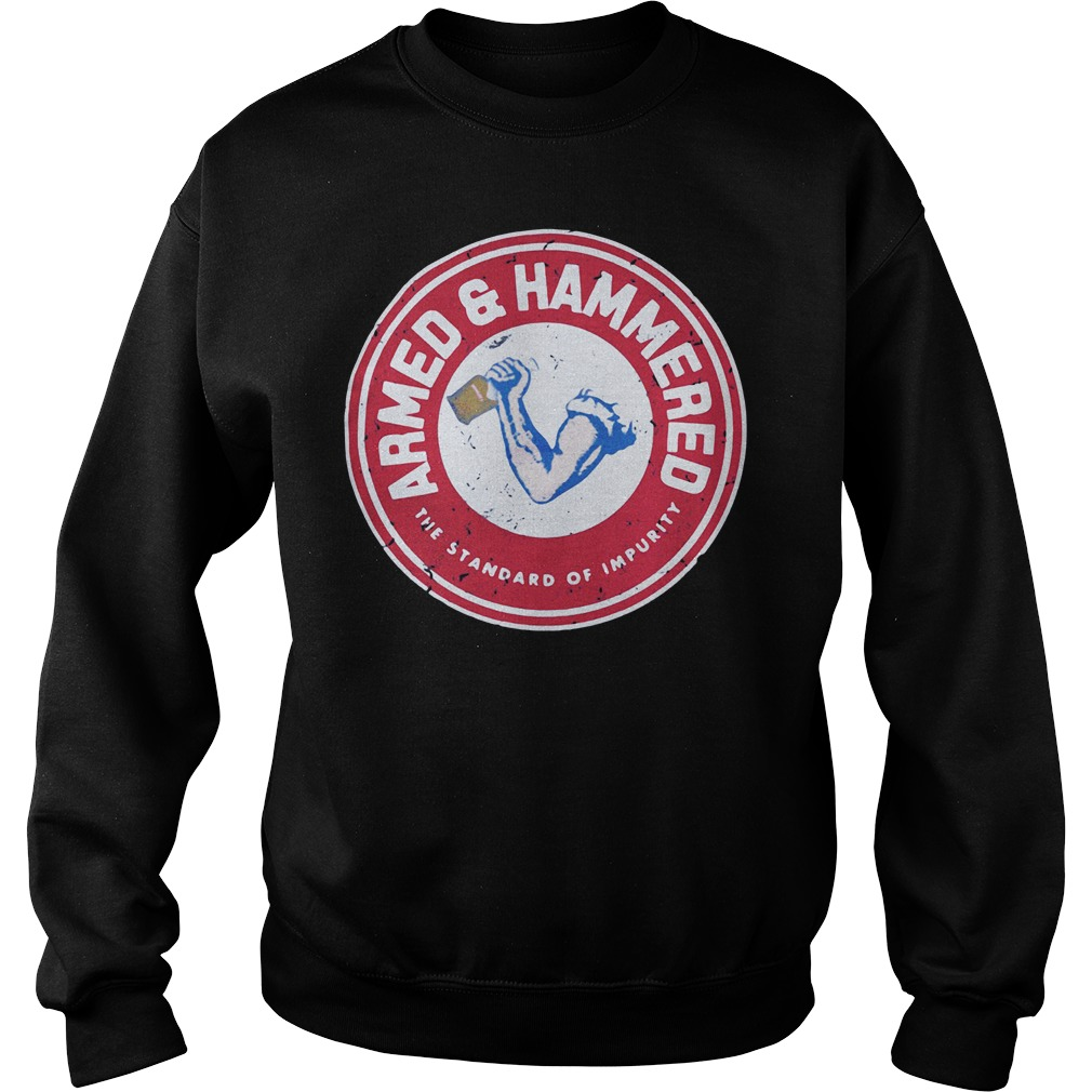 The standard of impurity Armed and Hammered Sweater