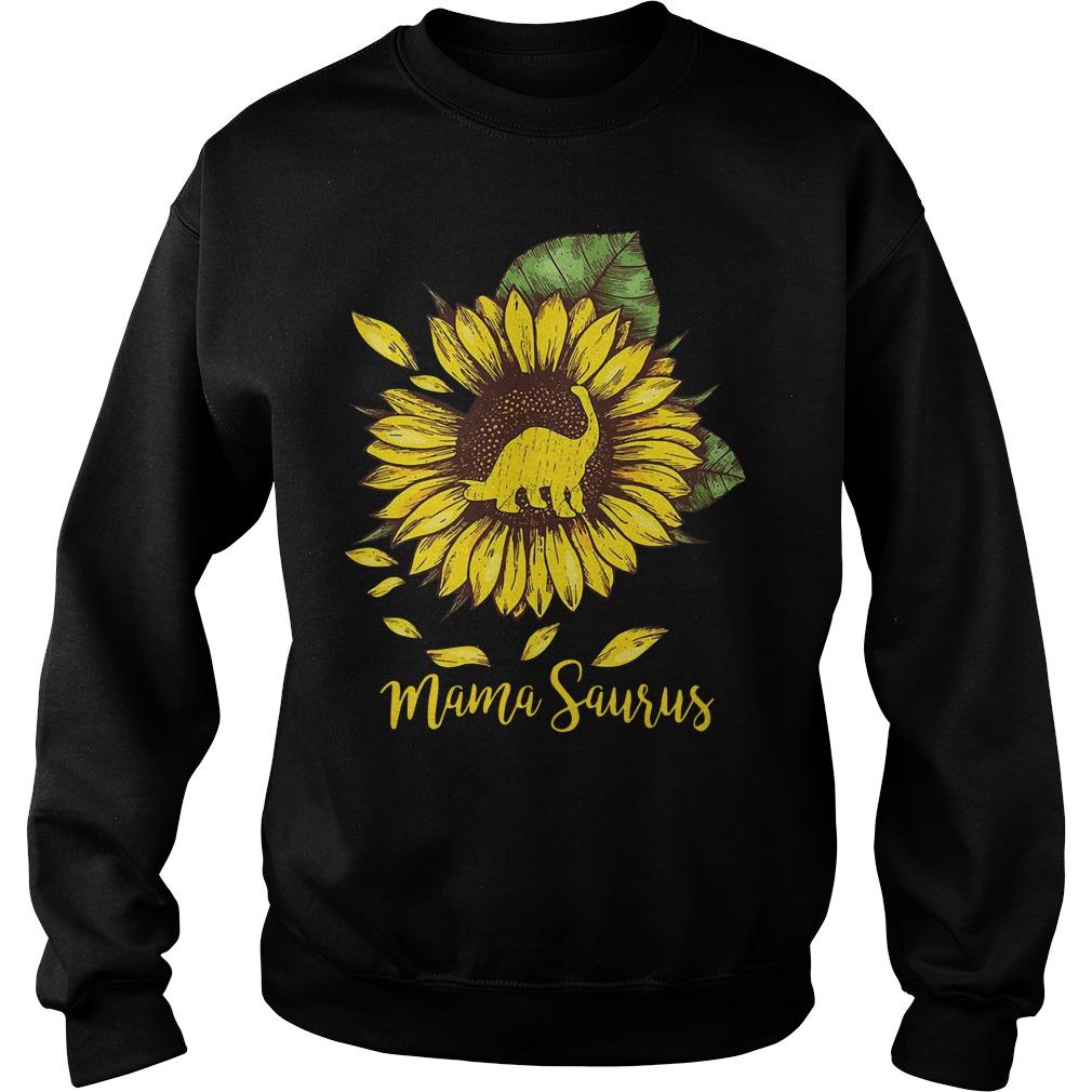 Sunflower Mama saurus Sweater