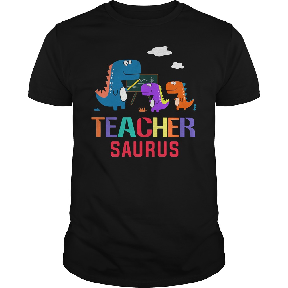 Teacher Saurus Guys Shirt
