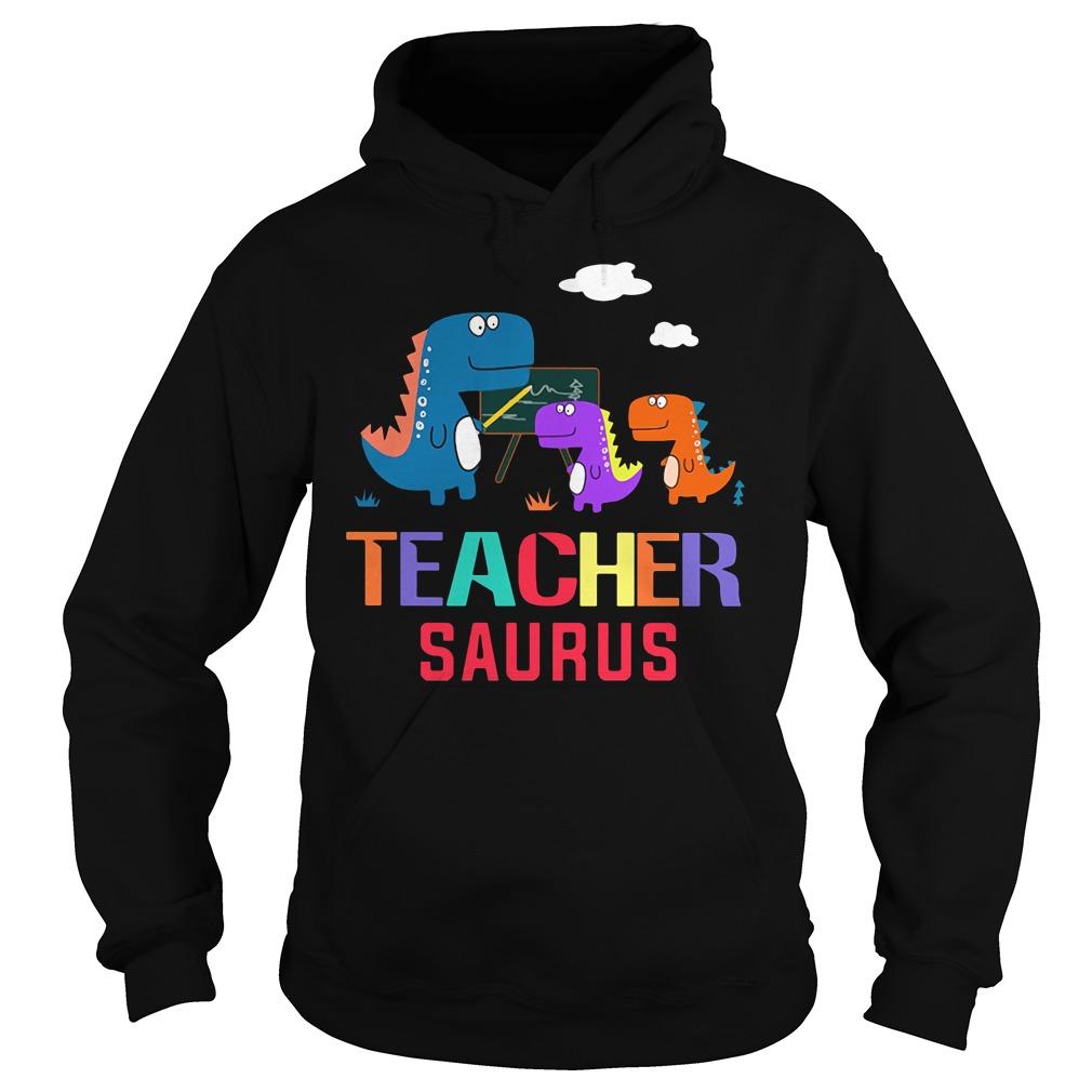 Teacher Saurus Hoodie