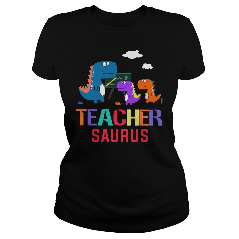 Teacher Saurus Ladies Tee