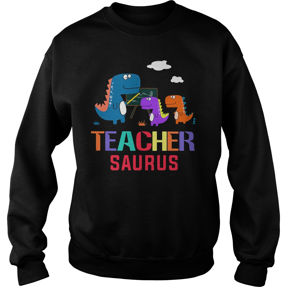 Teacher Saurus Sweater