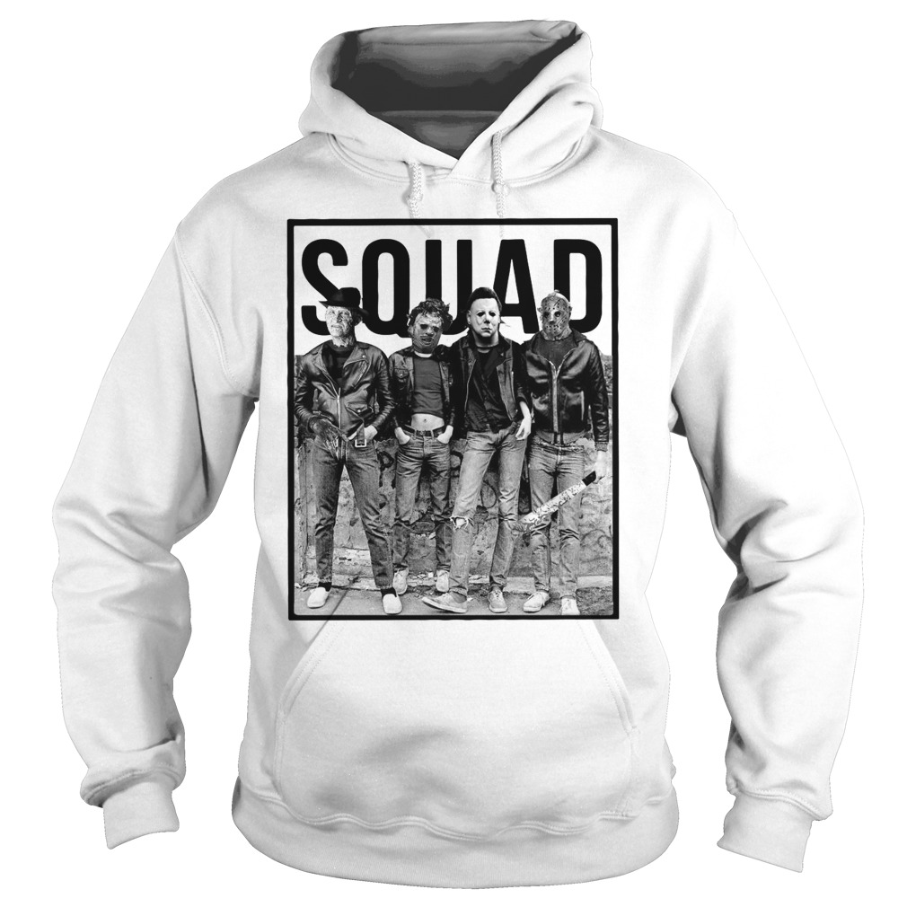 The Nightmare Ends on Halloween Squad Hoodie