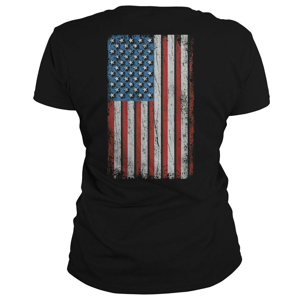 Trump a real American hero Ladies Tee