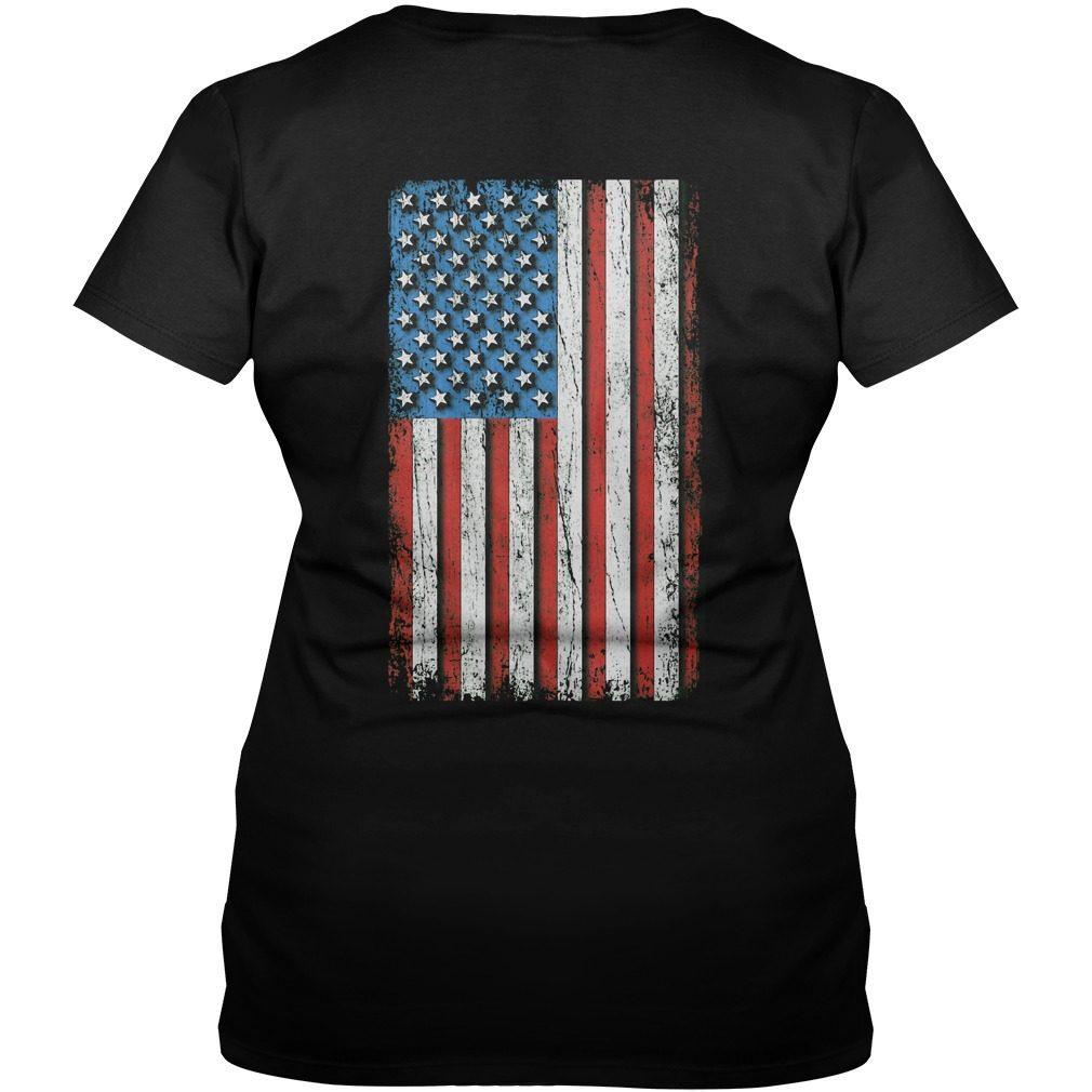 Trump a real American hero V-neck T-shirt