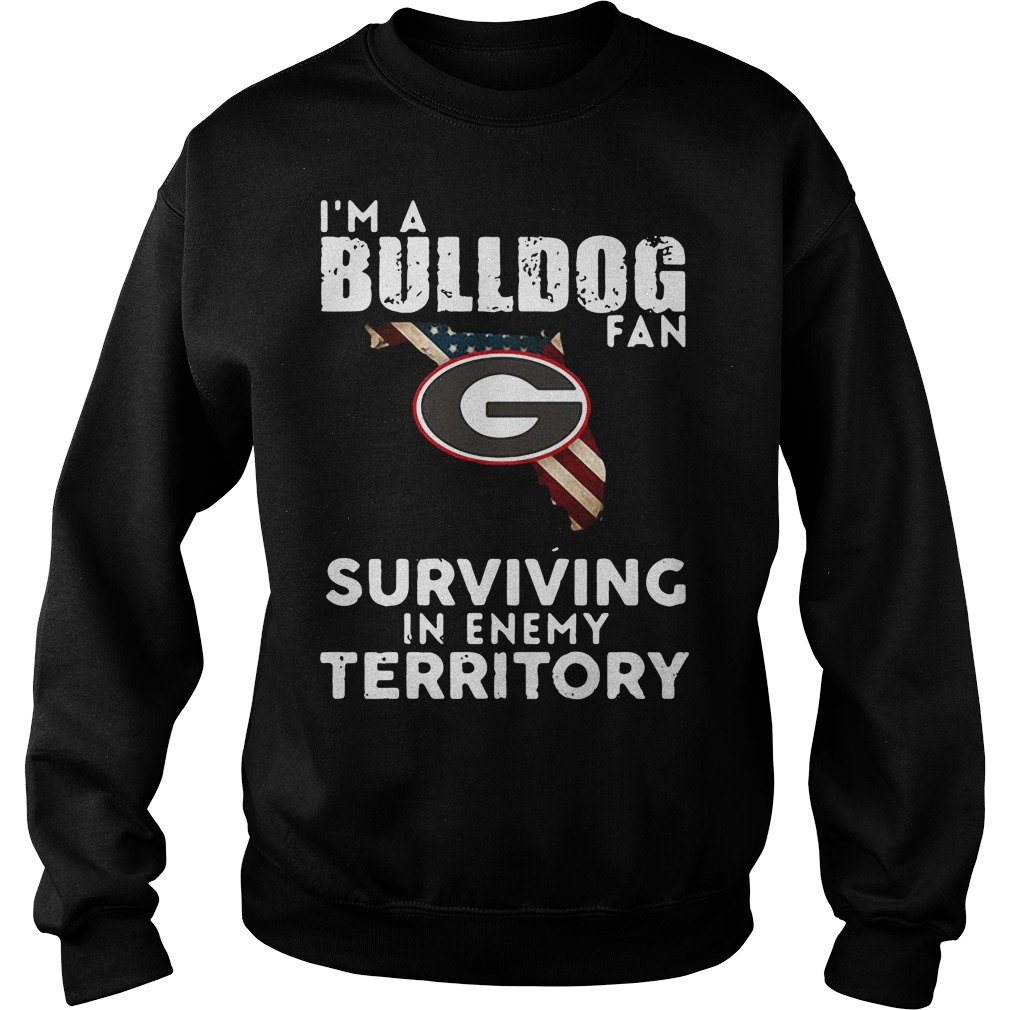 University of Georgia I'm a Bulldog fan Surviving Territory Sweater
