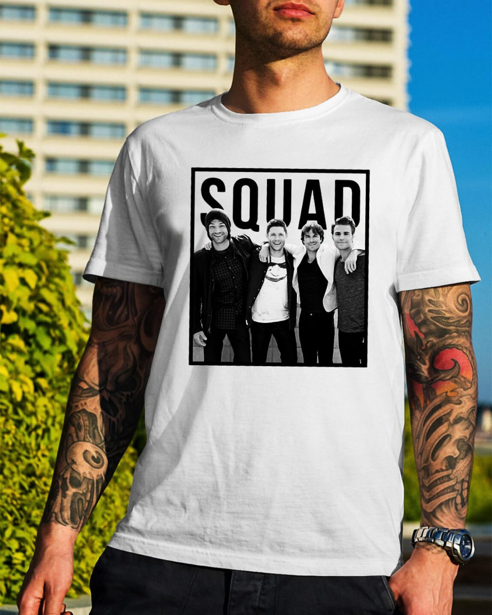 The Vampire diaries Squad shirt