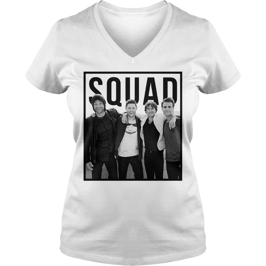 The Vampire diaries Squad V-neck T-shirt