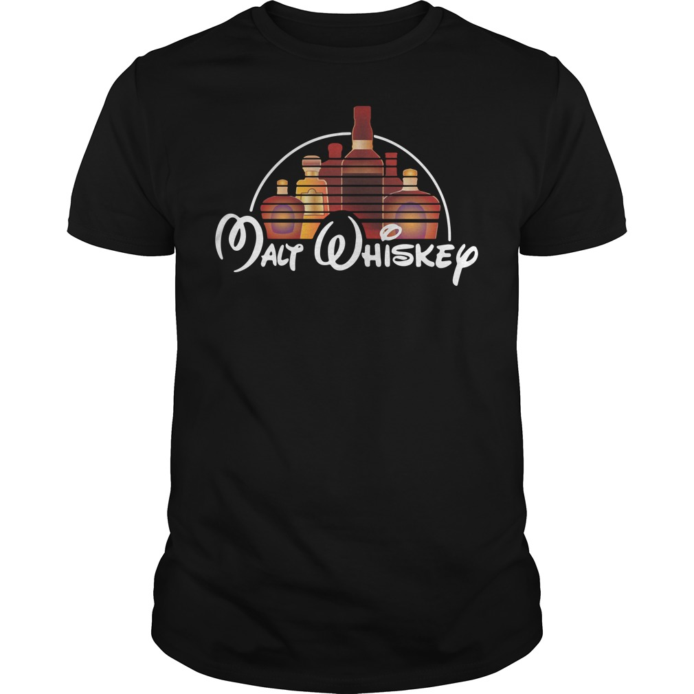 Walt Disney Malt Whiskey Guys Shirt