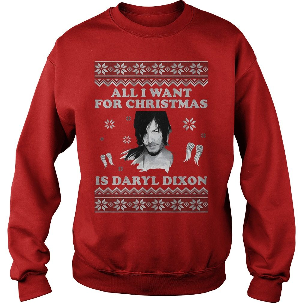 All I want for Christmas is Daryl Dixon sweater