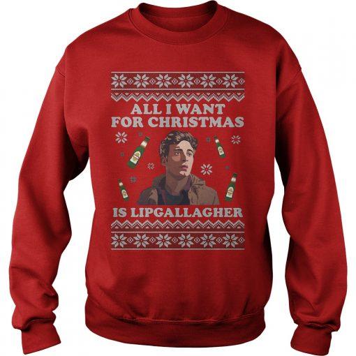 All I want for Christmas is Lip Gallagher sweater