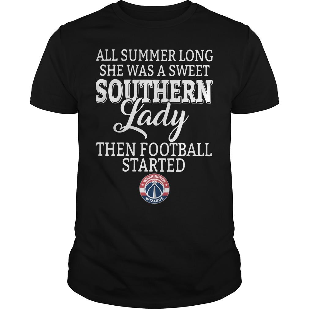 Washington Wizards all summer long she was a sweet Guys Shirt