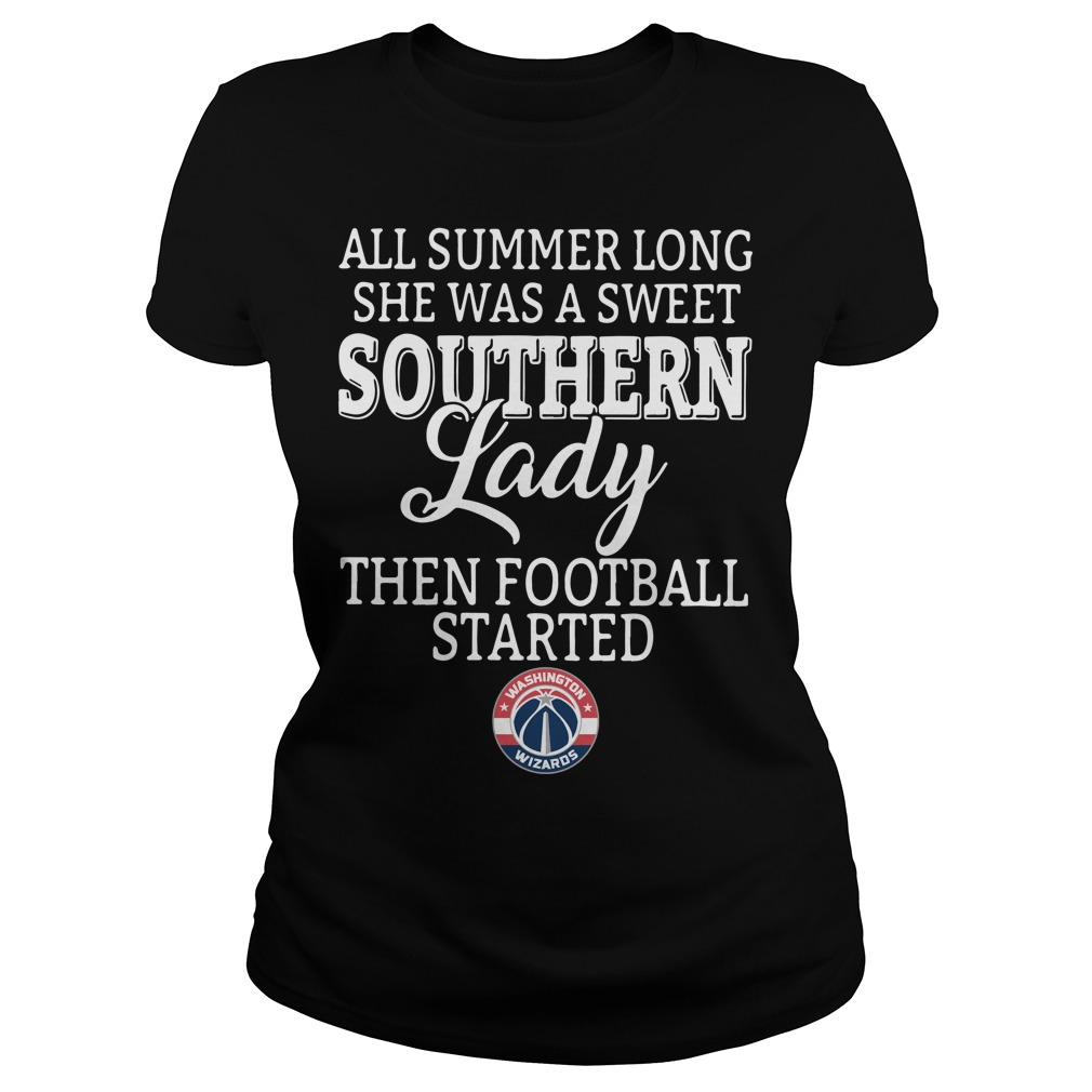 Washington Wizards all summer long she was a sweet Ladies Tee