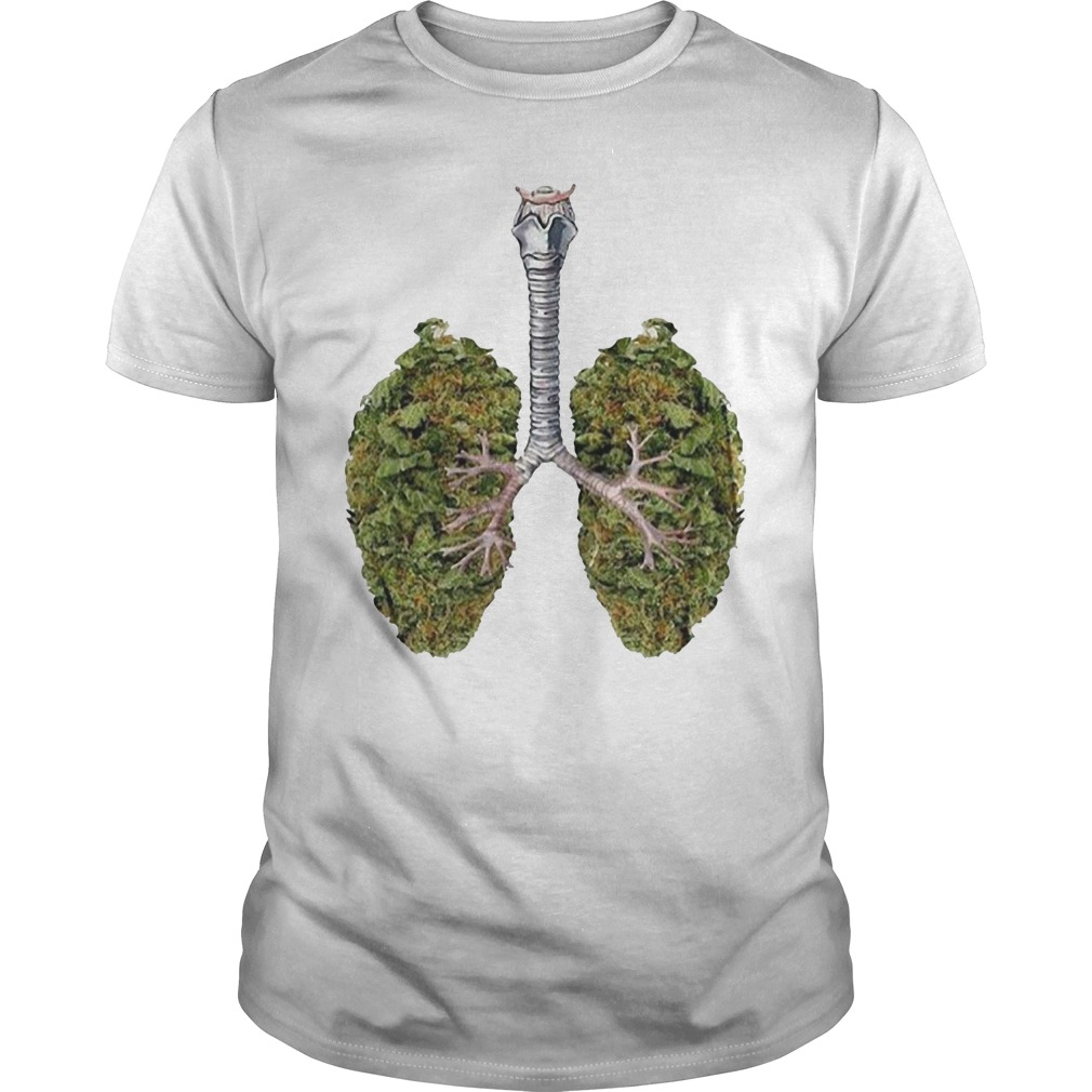 Weed lungs Guys Shirt