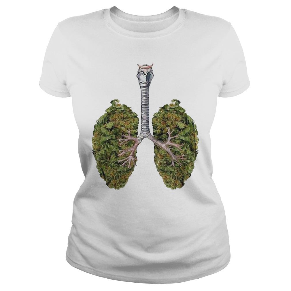 Weed lungs Ladies Tee