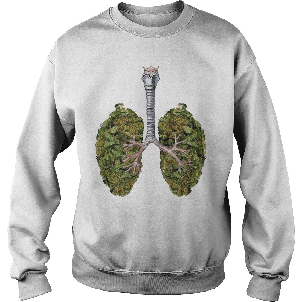 Weed lungs Sweater