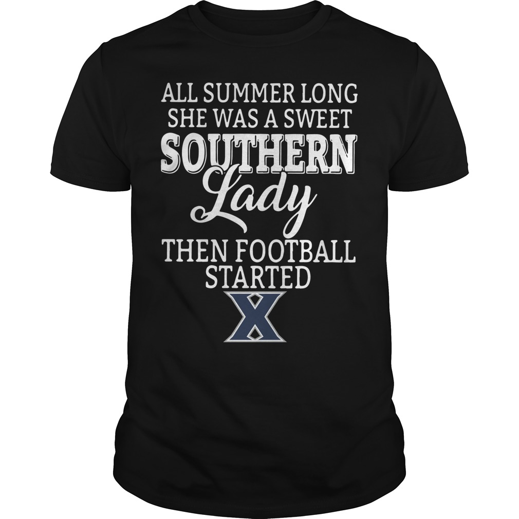 Xavier Musketeers all summer long she was a sweet Guys Shirt