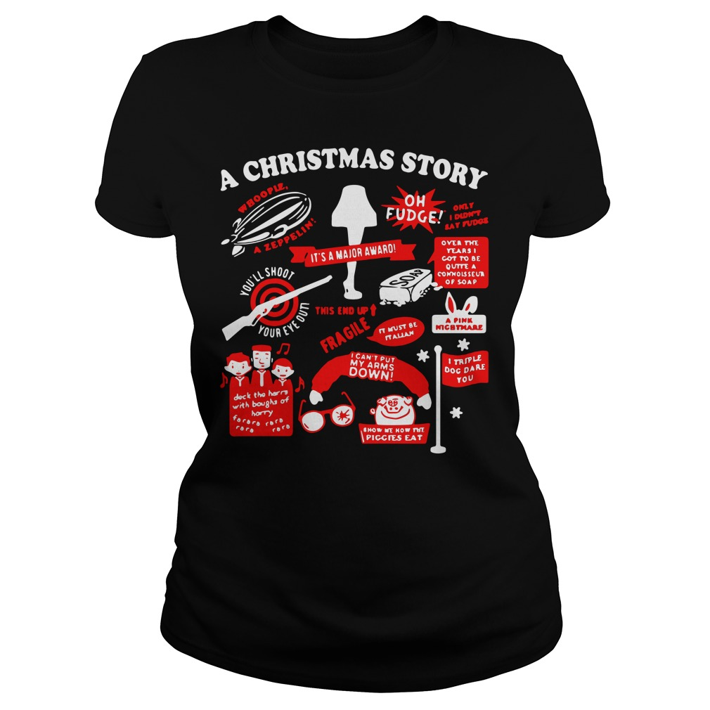 A Christmas story Ladies Tee