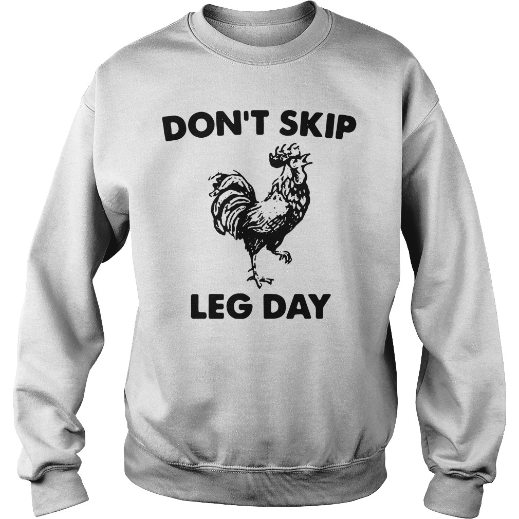 Don't skip leg day Sweater