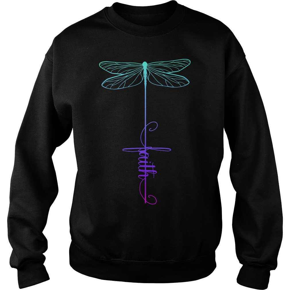 Dragonfly faith Sweater